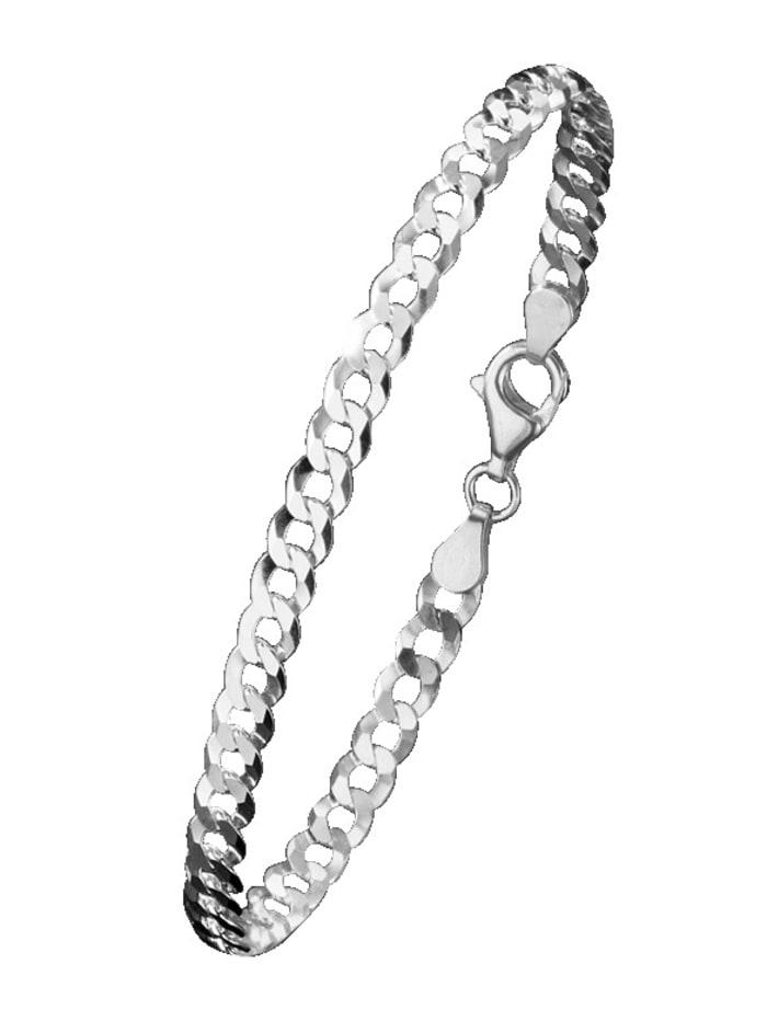 Bracelet maille gourmette en argent 925, Coloris argent