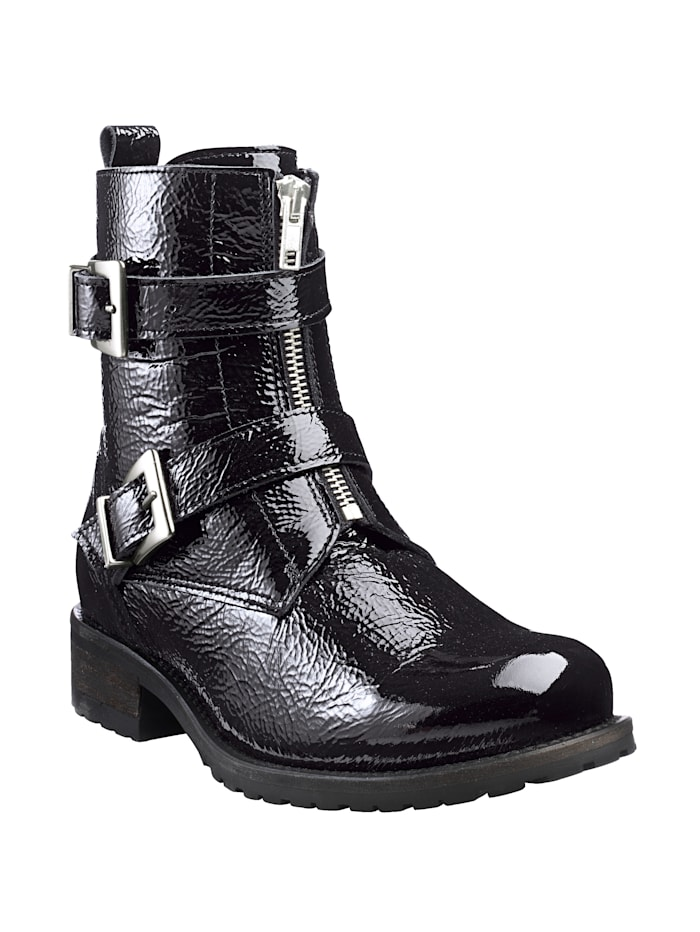 Ankle Boots with different ways of fastening