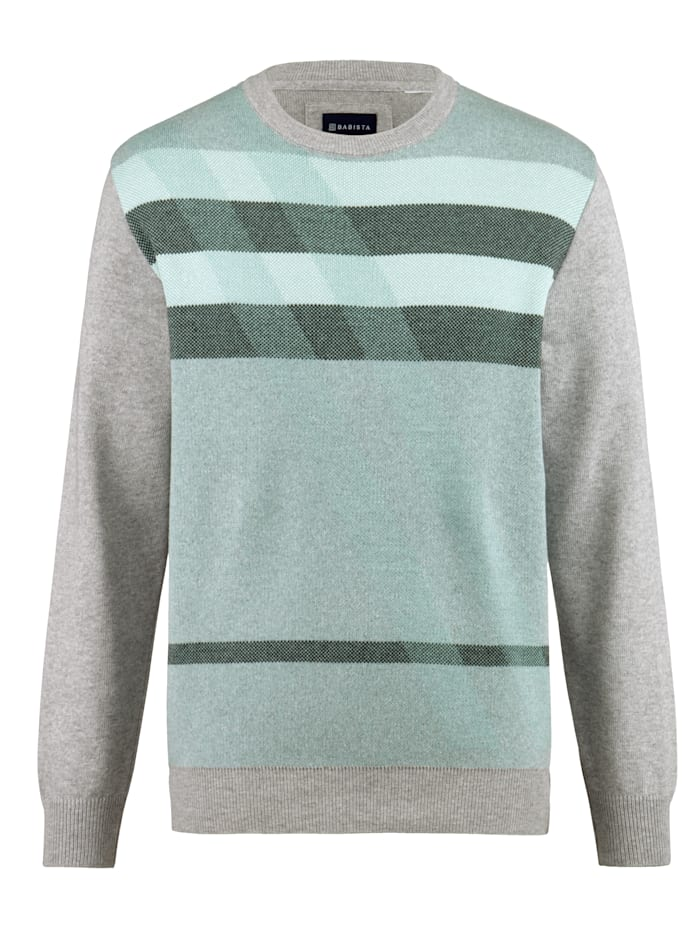 Pullover mit schönem Jacquard-Strickmuster