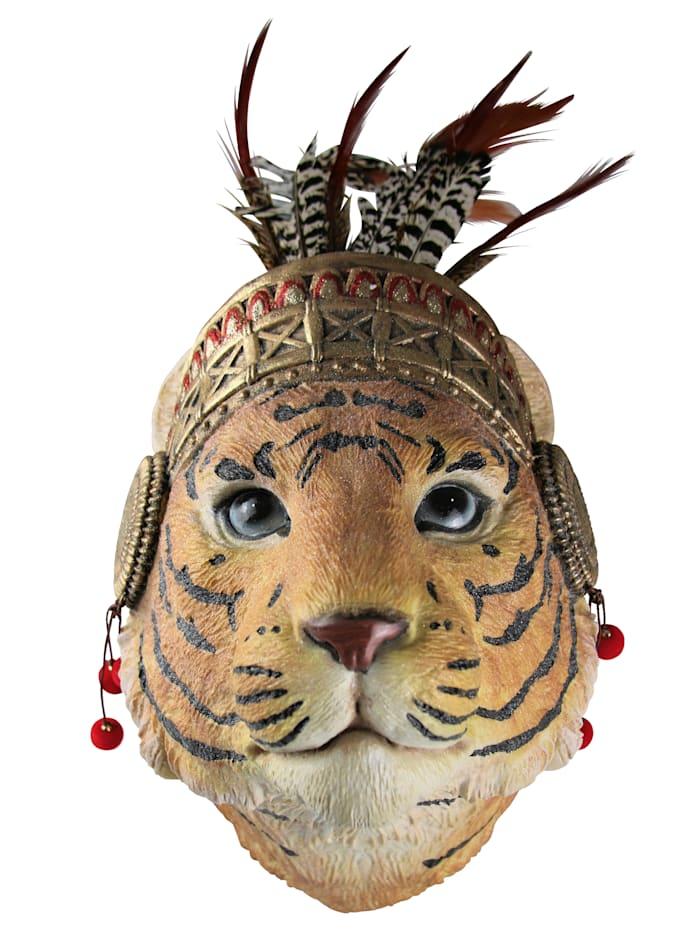 AM Design Wand-Deko, Tiger, Multicolor