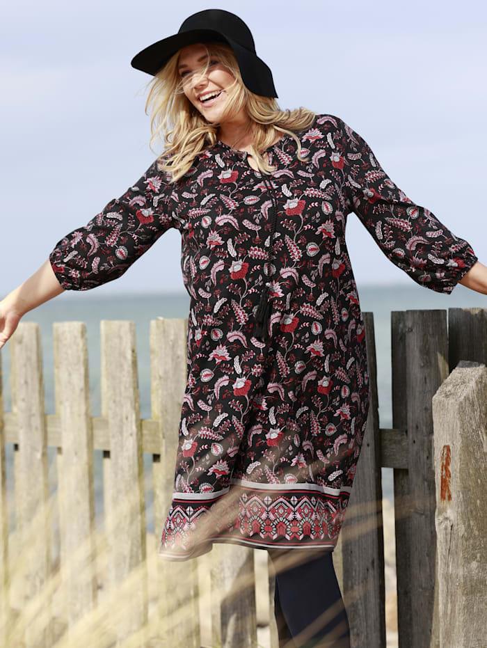 Jersey jurk met flatterende A-shape