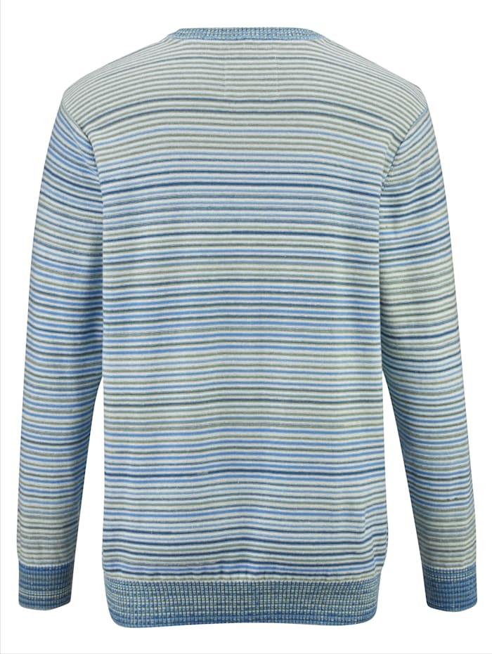 Pullover mit garngefärbtem Streifendessin