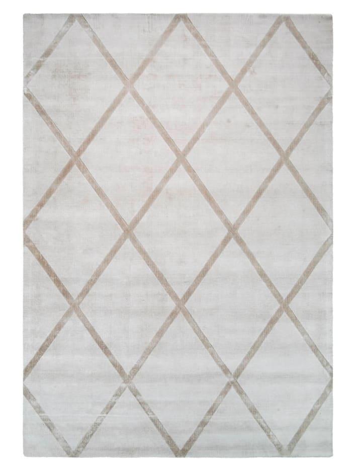Kayoom Handwebteppich 'Paul', Beige