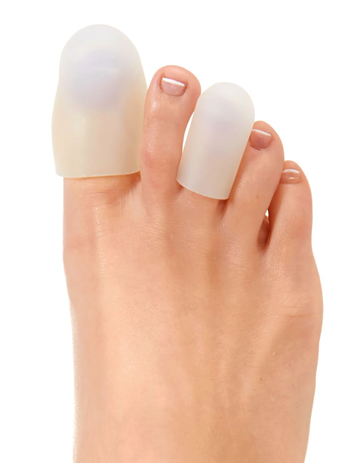 MedoVital Protections silicone pour les orteils, blanc