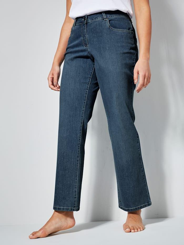 Dollywood Jeans PAULA Straight Cut, Lichtblauw
