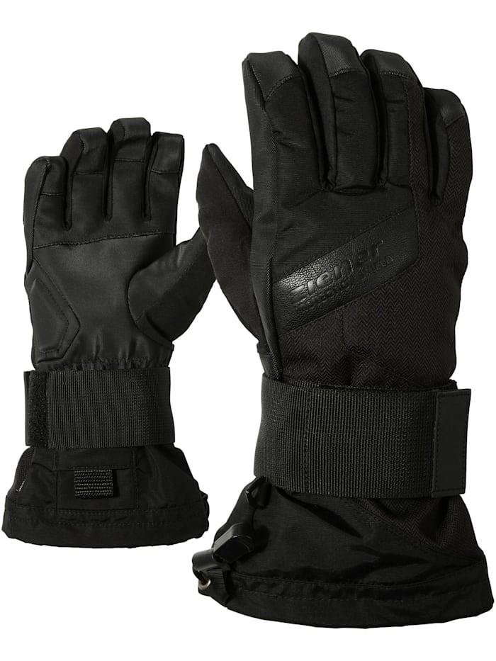 Ziener MIKKS AS(R) JUNIOR glove SB, Black hb