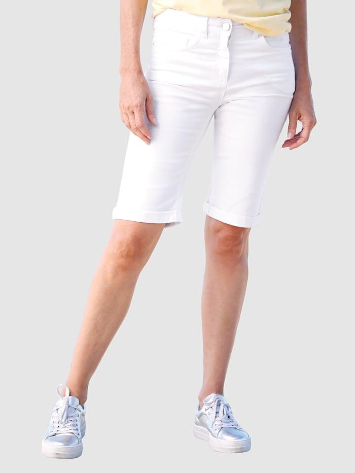 Dress In Shorts med rette ben, Hvit