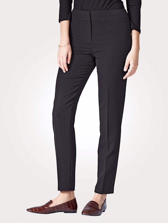 Artigiano Pantalon avec élasthanne, Noir