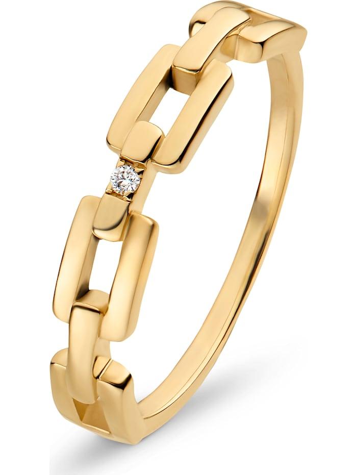 CHRIST Diamonds CHRIST Diamonds Damen-Damenring 375er Gelbgold Diamant, gelbgold