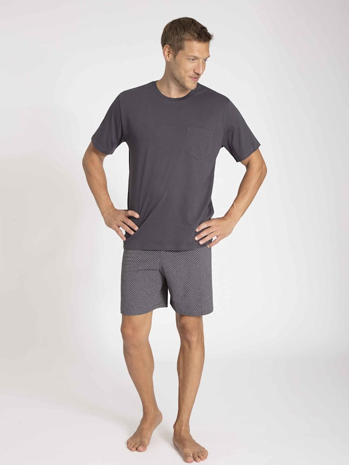 Kurz-Pyjama mit Webhose Ökotex zertifiziert