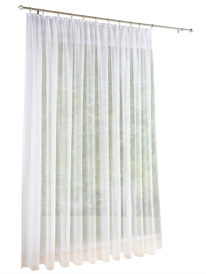 Home Wohnideen Záclona 'Viole', biela
