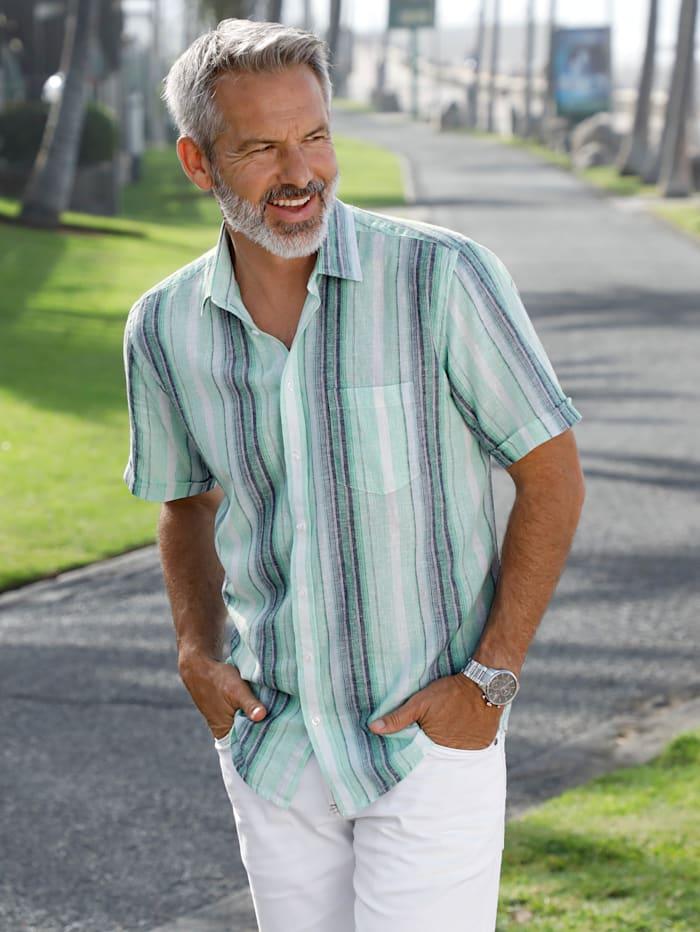 BABISTA Leinenhemd in luftiger Sommerqualität, Mintgrün