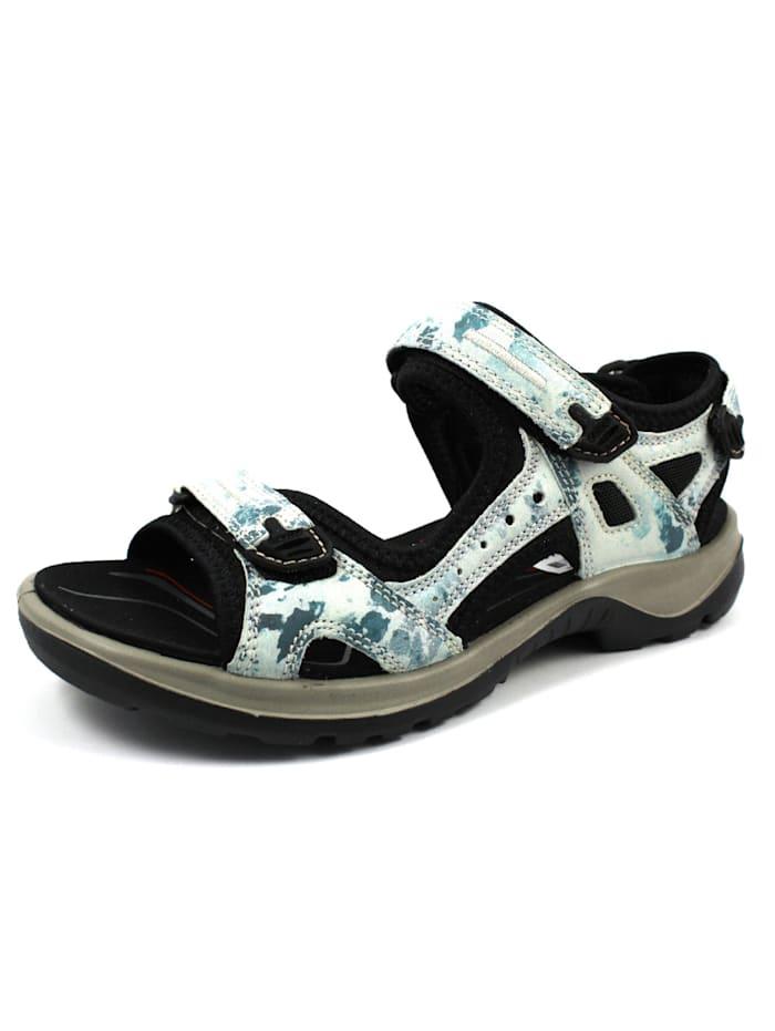 Ecco Sandalen/Sandaletten, hell-blau
