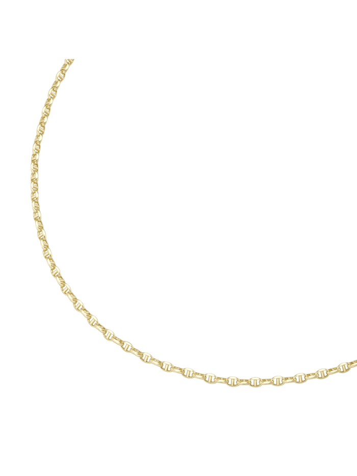 Luigi Merano Kette Stegankerkette, hohl, Gold 585, Gold