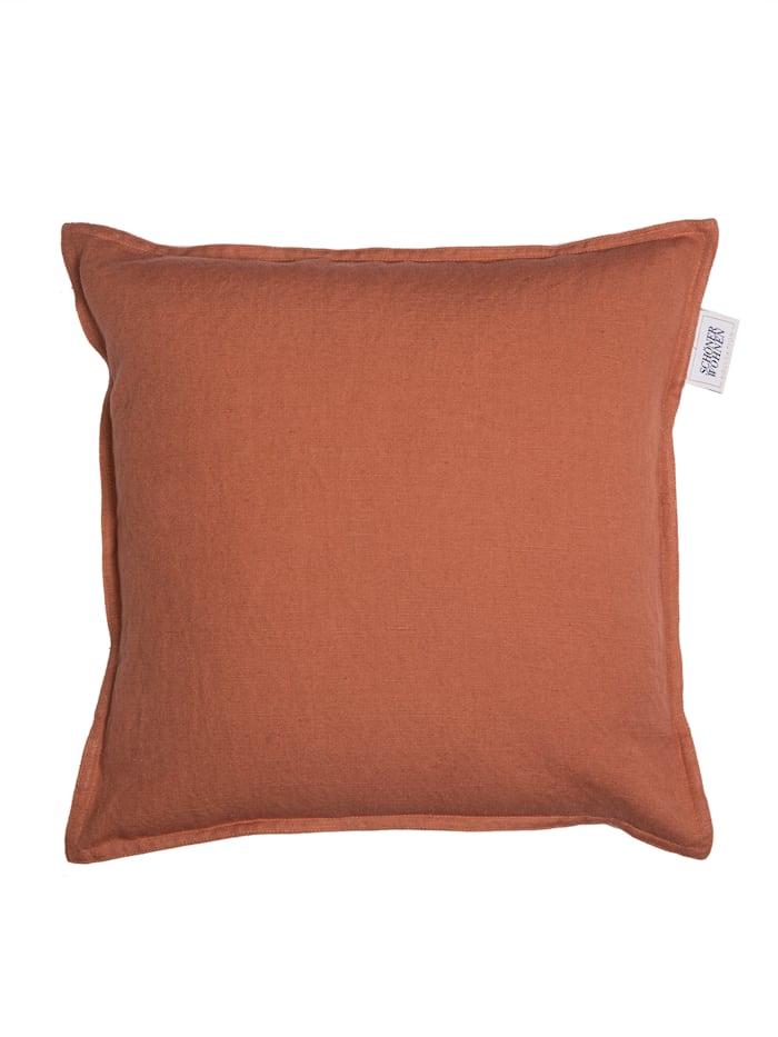 Schöner Wohnen Kollektion Zierkissenhülle Lino, Orange
