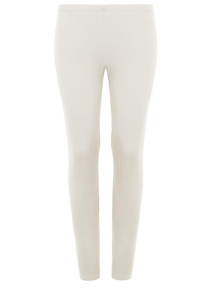 Cybèle Damen langbein Unterhose Wool-Silk, champagner