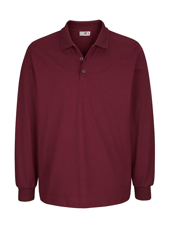 Roger Kent Poloshirt voor elke dag, Bordeaux