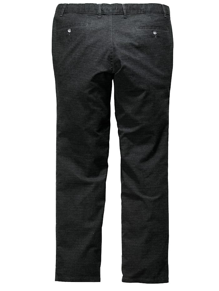 Men Plus Kapeat housut, Antrasiitti/Musta