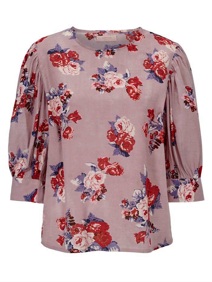 SIENNA Bluse, Taupe