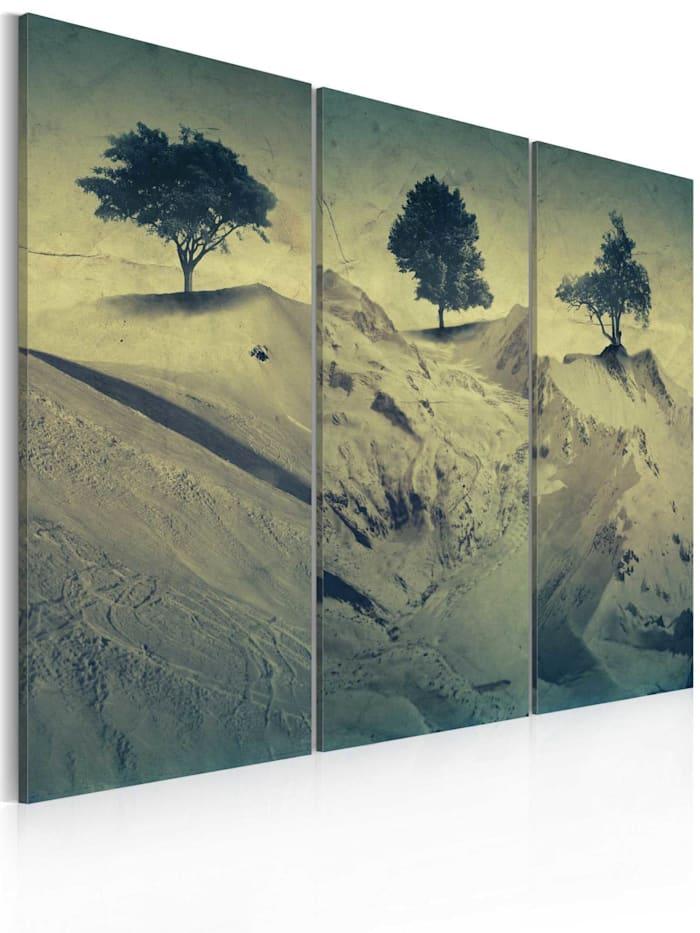 artgeist Wandbild Quicksands, Beige,Braun,Grün