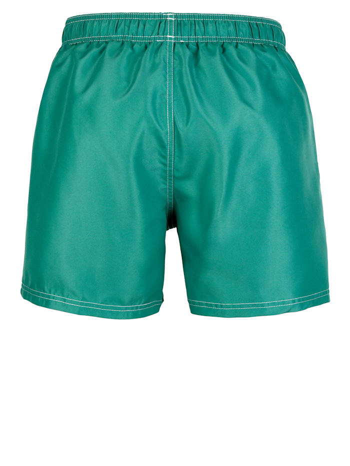 Badeshort in sportlicher Optik