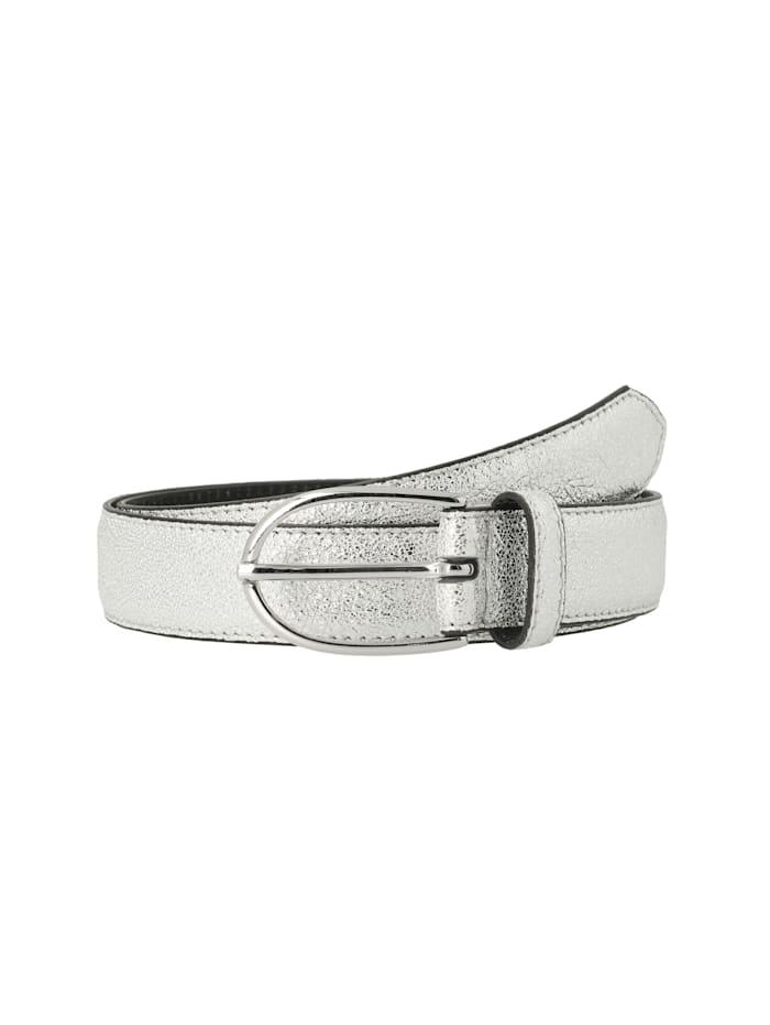 Tamaris Tamaris Damengürtel - 160093 Ledergürtel, Silver