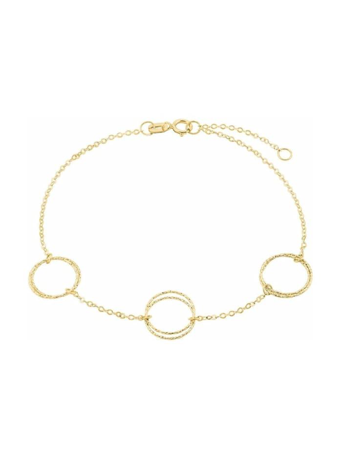 amor Armband für Damen, Gold 375, Gold