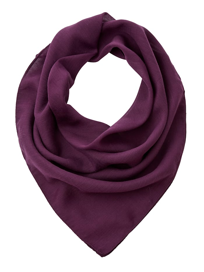 Paola Scarf Draping fabric, Berry