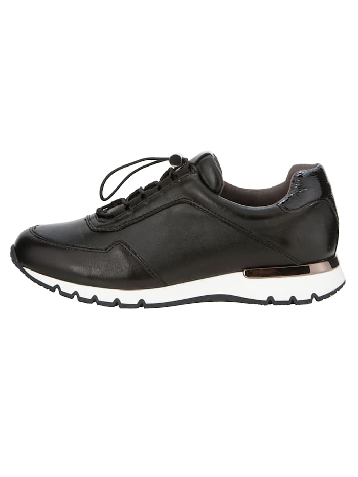 Trainers made from premium leather