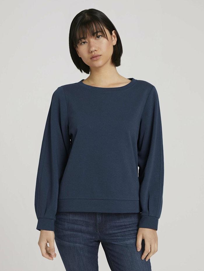 Basic Sweatshirt mit Bio-Baumwolle