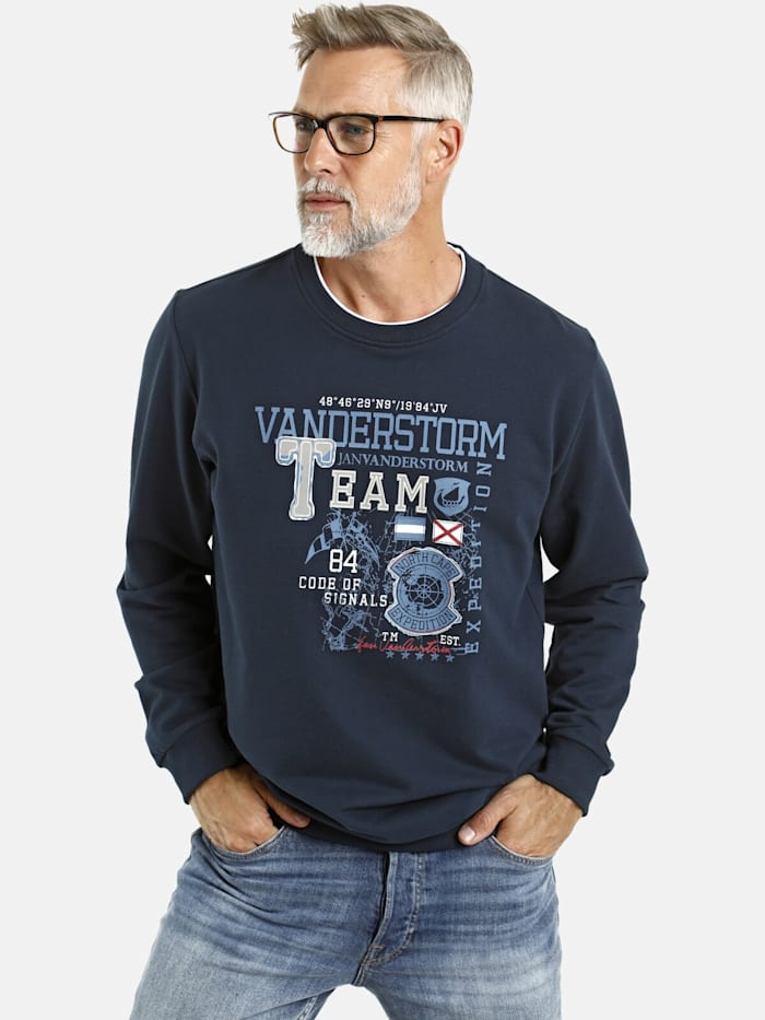 Jan Vanderstorm Jan Vanderstorm Sweatshirt JUKKA, dunkelblau