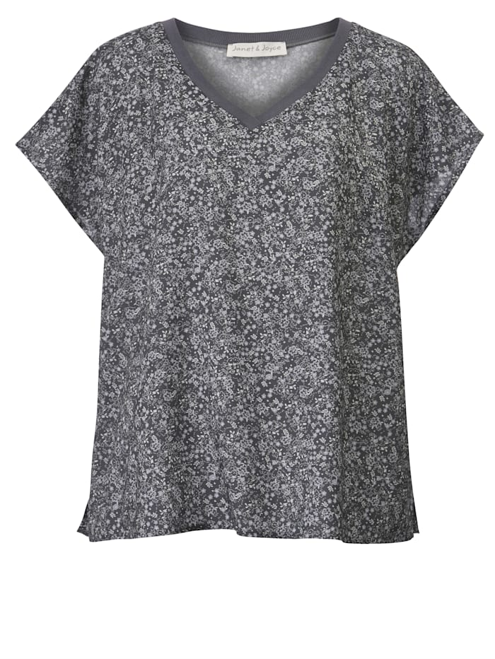 Shirtbluse aus reiner Viskose