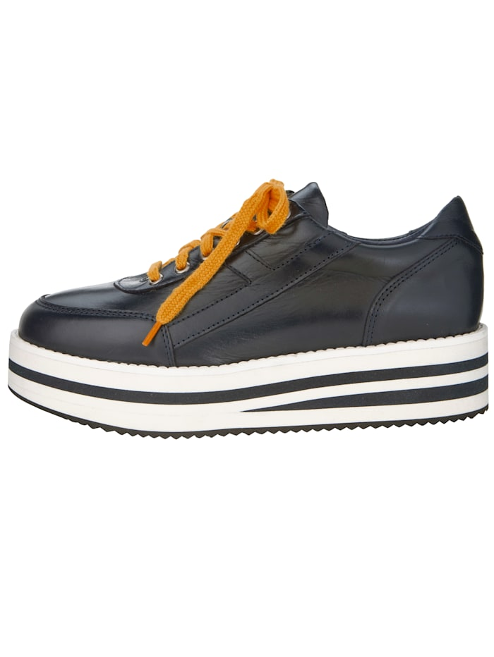 Platform trainers with stripe detail