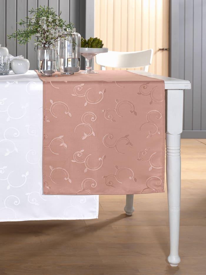 Webschatz Tischwäsche 'Zuri', Rosé