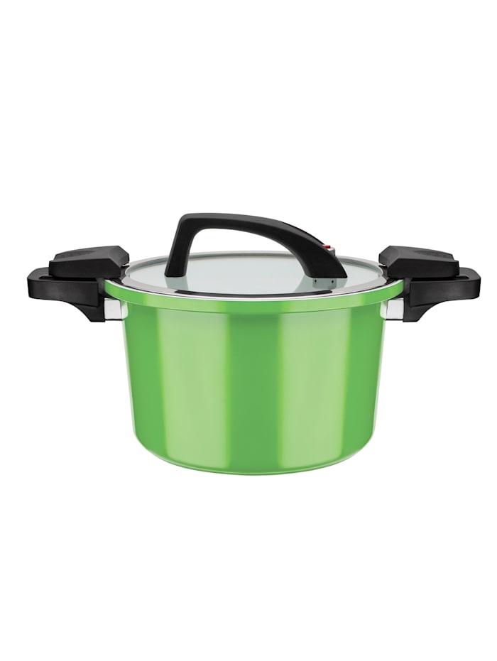 GSW Energiespartopf Premium Color 6 Liter, Grün