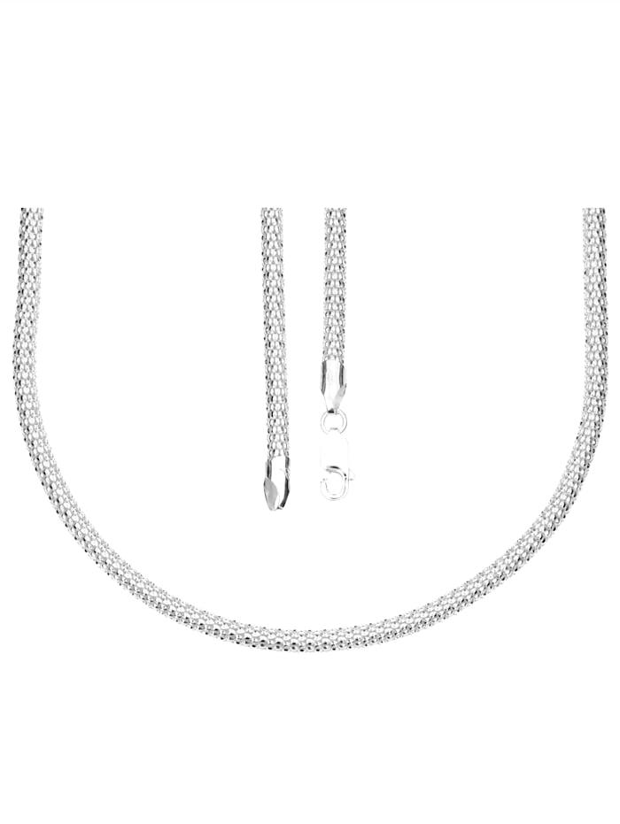 Grazielli Halskette, Silberfarben