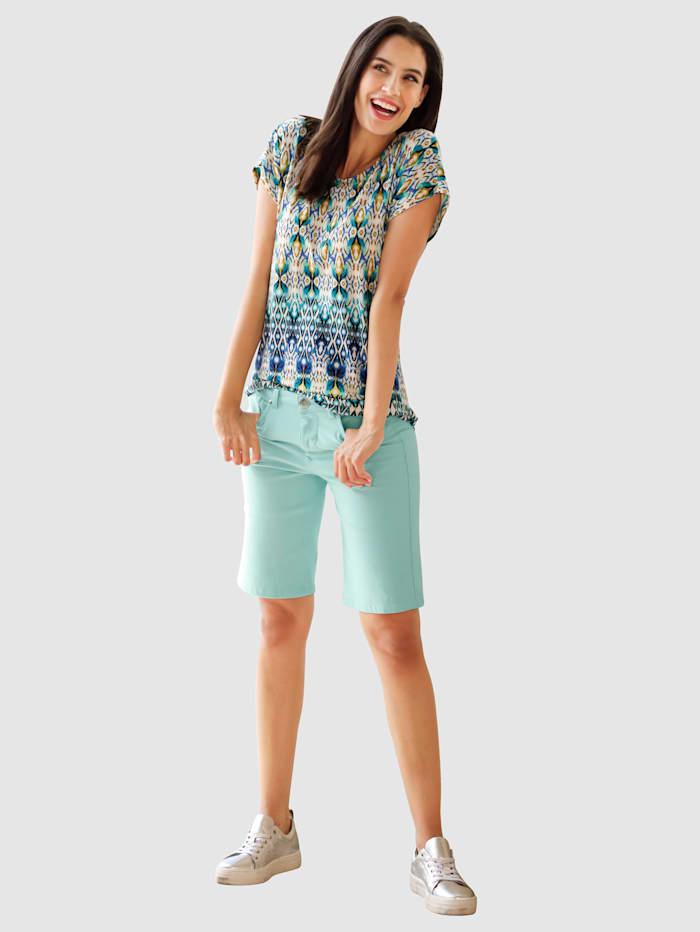 Shorts i denimmaterial