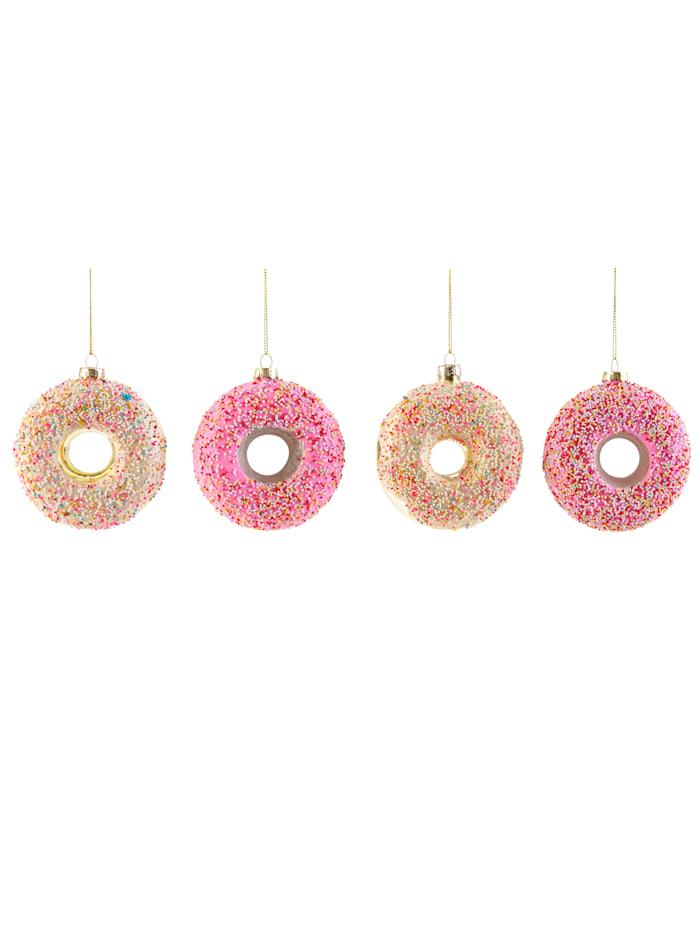 IMPRESSIONEN living Hänger-Set, 4-tlg., Donut, Multicolor