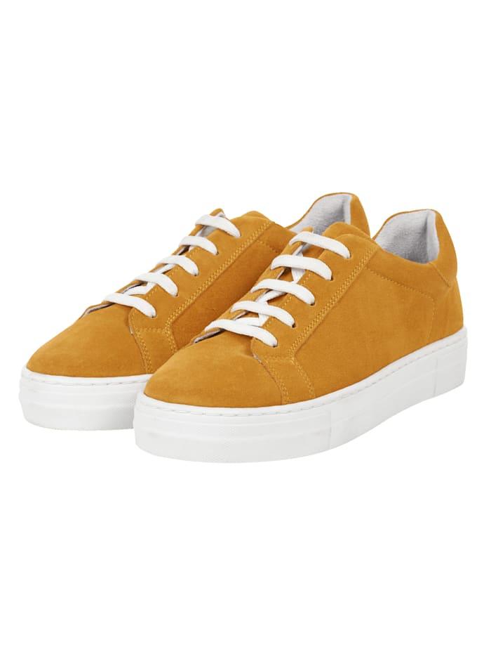 REKEN MAAR Sneaker, Gelb