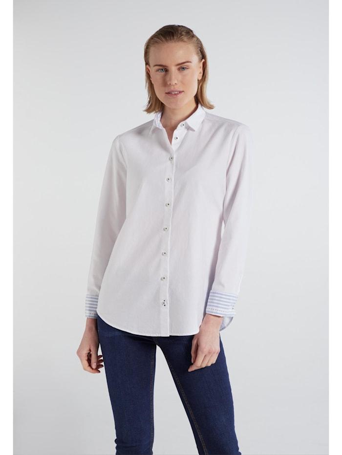 Eterna Eterna Langarm Bluse MODERN CLASSIC Eterna Langarm Bluse MODERN CLASSIC, weiss