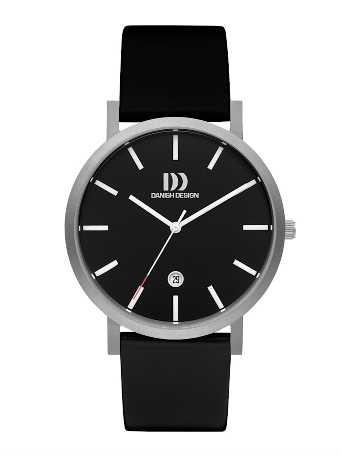 Danish Design Herrenuhr 3316349, Schwarz