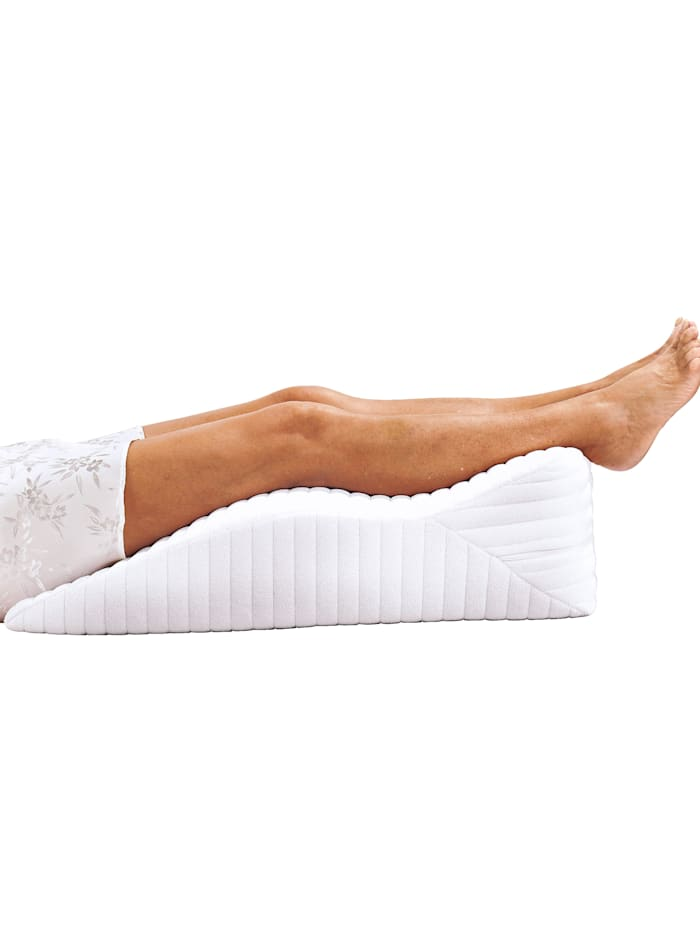 f.a.n. Coussin pour reposer les jambes Fan Medisan Sleep & Care, Blanc