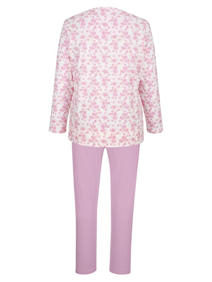 Pyjama's per 2 stuks met trendy plooitjes voor