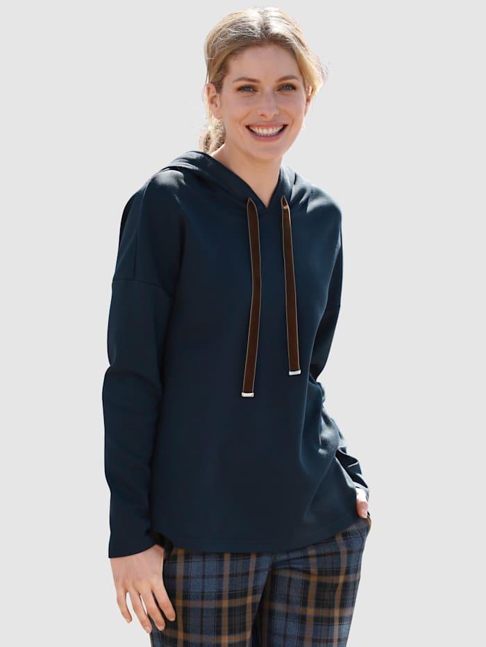 Laura Kent Sweat-shirt à capuche, Marine