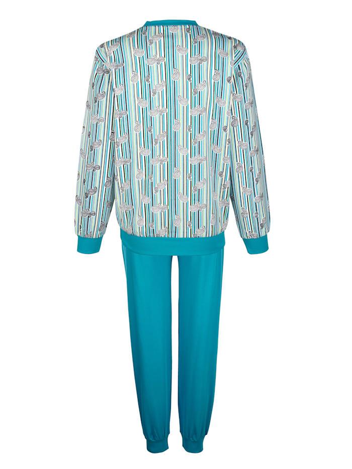 Schlafanzug mit Bündchenabschlüsse 2er Pack