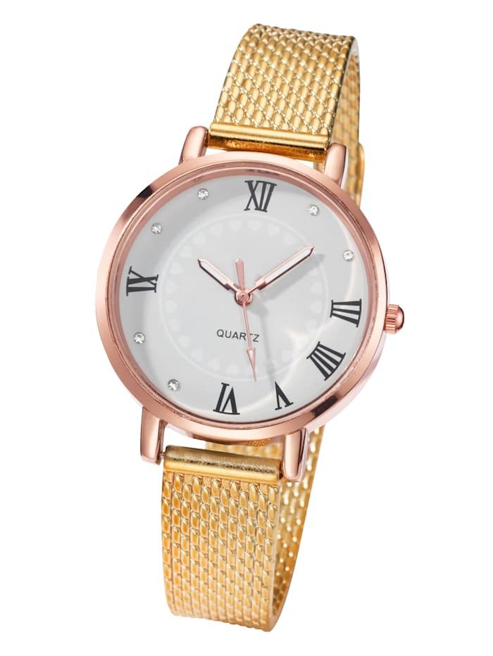 Laura Kent Náramkové hodinky, Farba žltého zlata