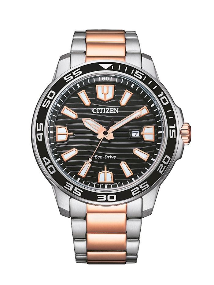 Citizen Herrenuhr ECO-Drive, AW1524-84E, Silberfarben