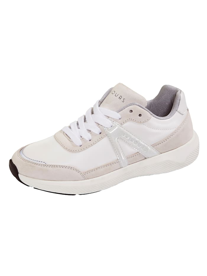 24 Hours Sneakers à semelle intermédiaire 3 couches, Blanc