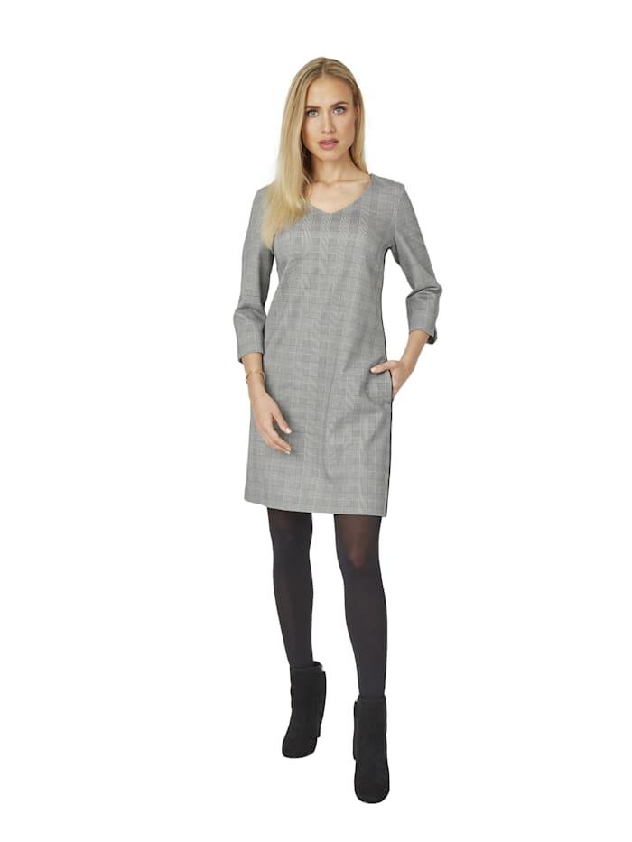 Daniel Hechter Modernes Kleid mit Karomuster, black