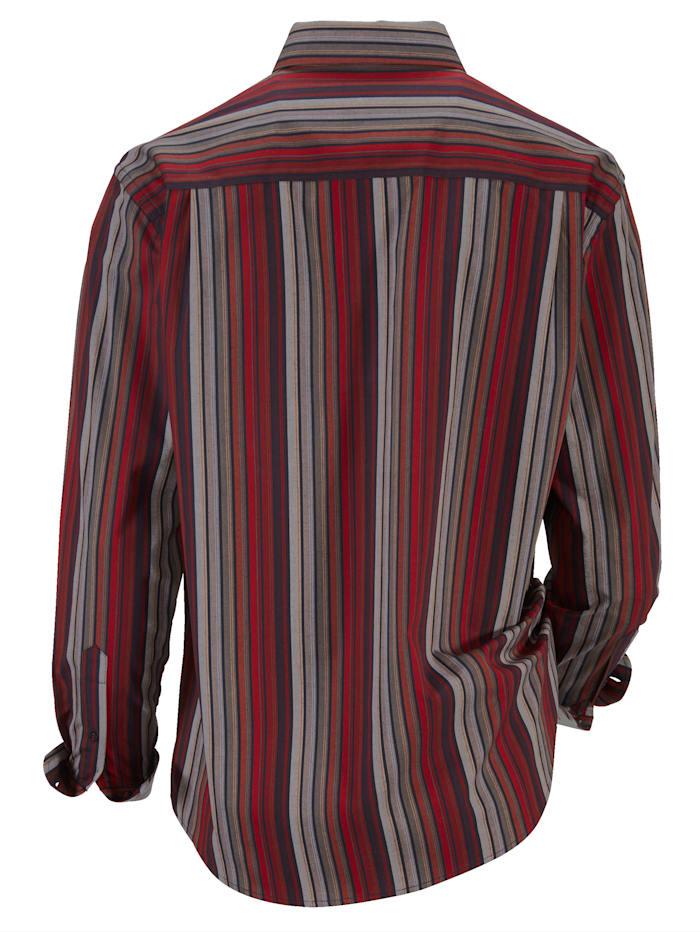 Hemd mit harmonischem Streifenmuster